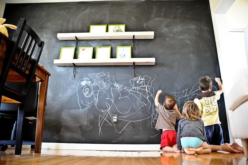 Доска воспоминаний - то, что ребенок будет делать каждое лето