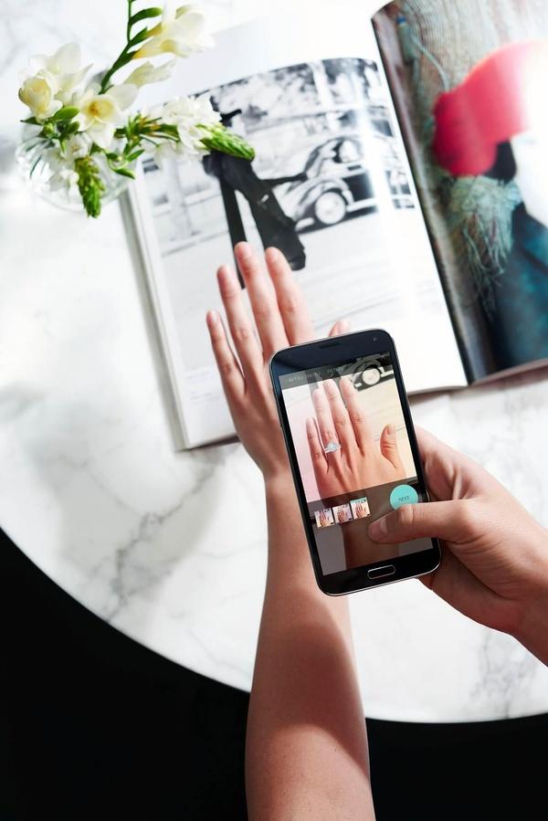 Новое онлайн-приложение для примерки колец