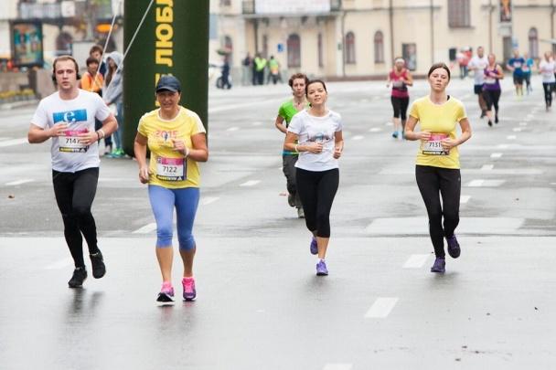 Маричка Падалко приняла участие в благотворительном забеге