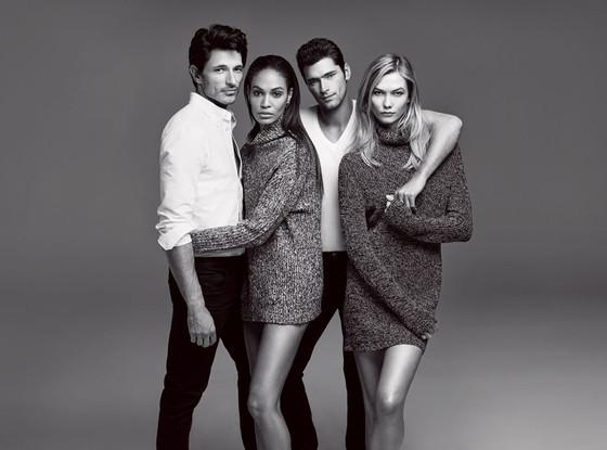 Рекламная кампания бренда Joe Fresh