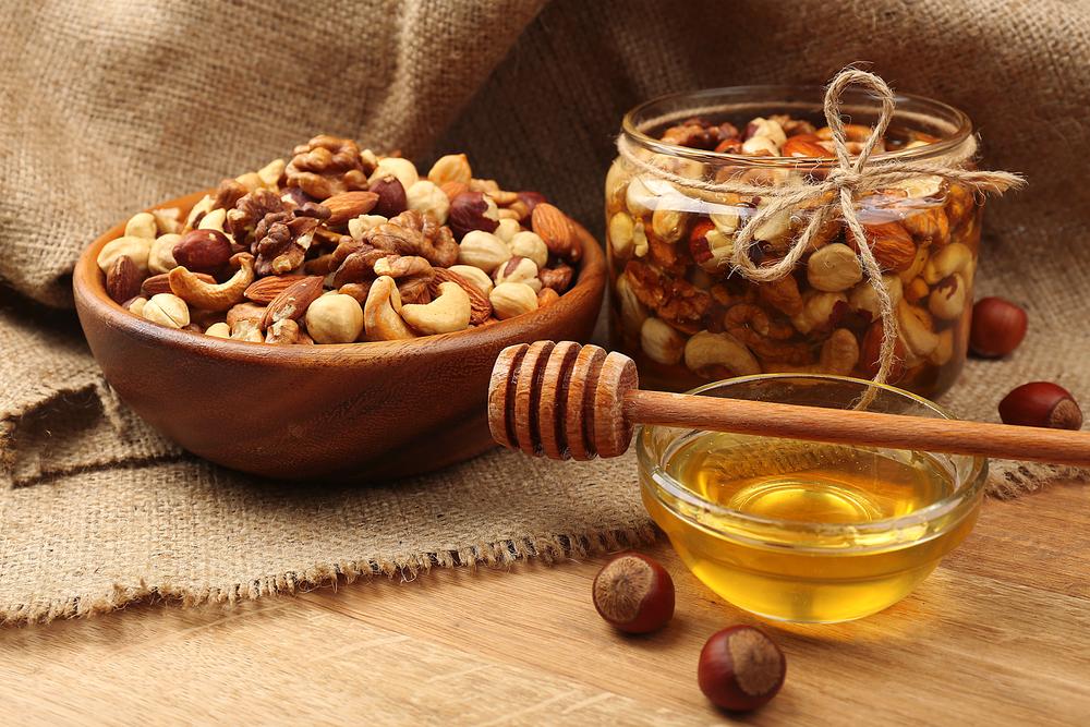 Мед и орехи от простатита