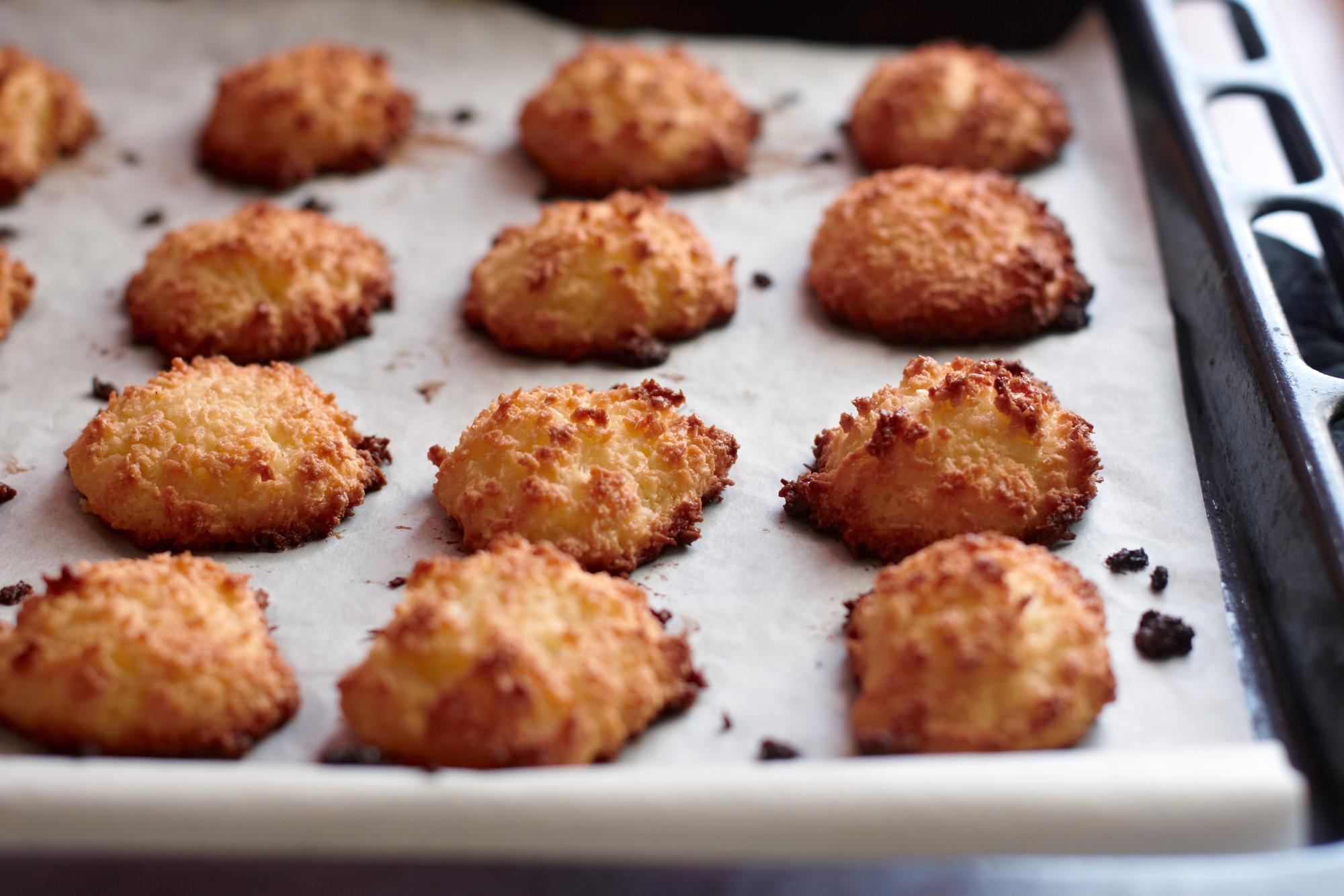 Кокосовое печенье без муки - диетическая сладость