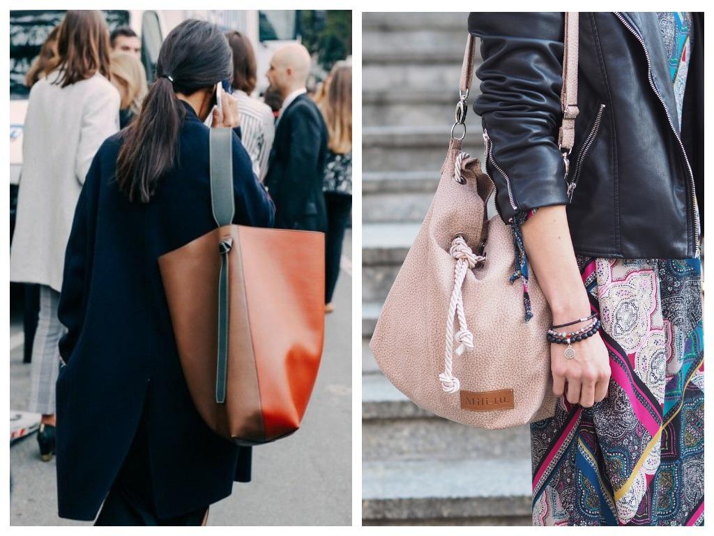 Сумка-торба - однозначно самый стильный вид сумки на осень 2019