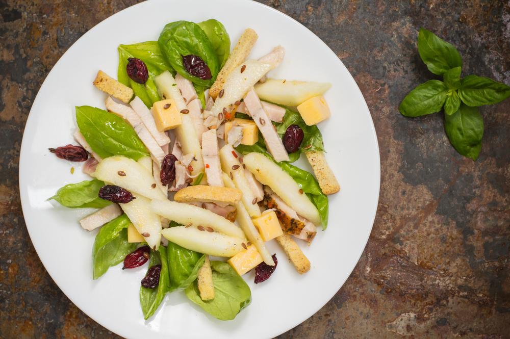 рецепты салатов с курицей и грушей