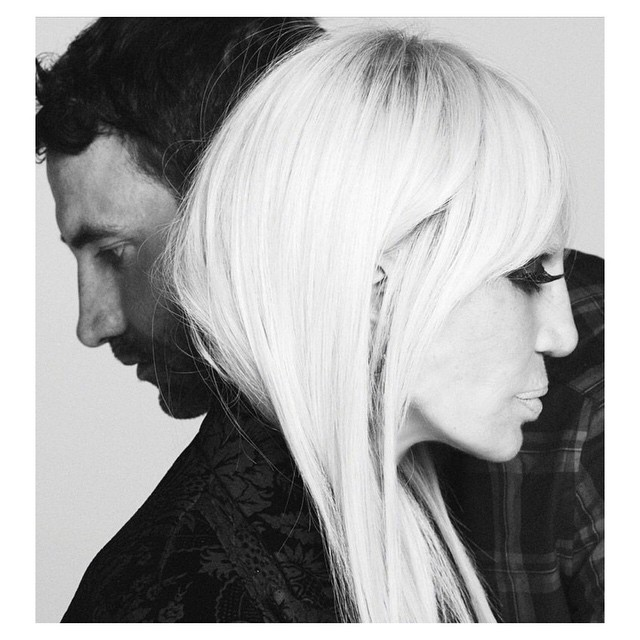 Дизайнеры Рикардо Тиши и Донателла Версаче в новой рекламной кампании Givenchy
