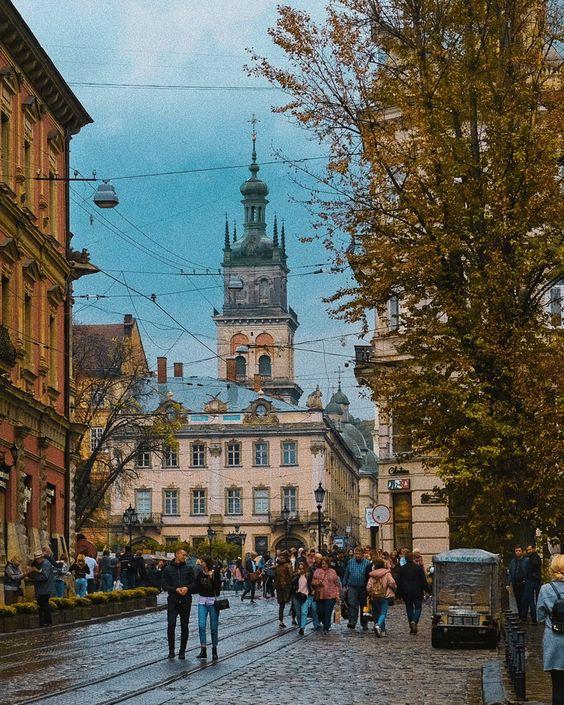 Осенние каникулы во Львове