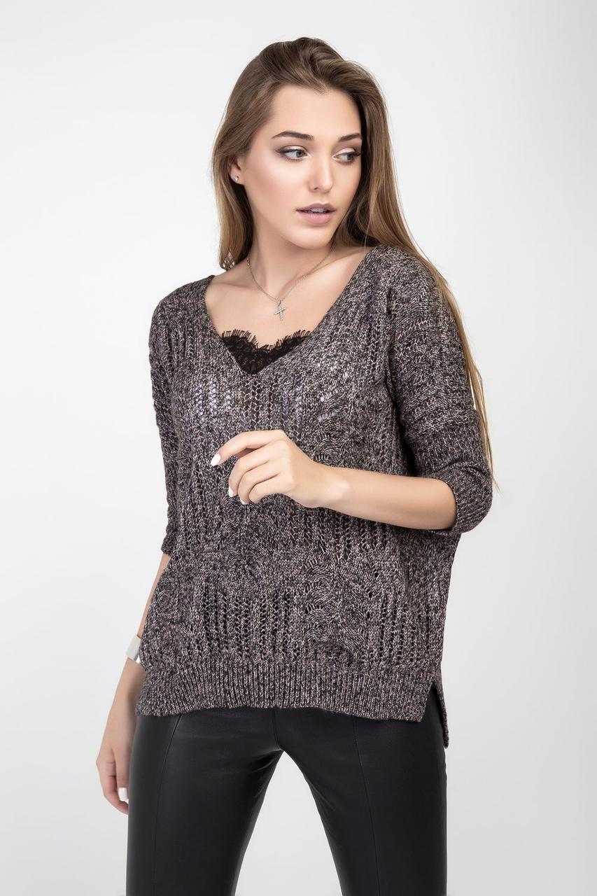 Неактуальные модели свитеров зимой 2019/20: с кружевом