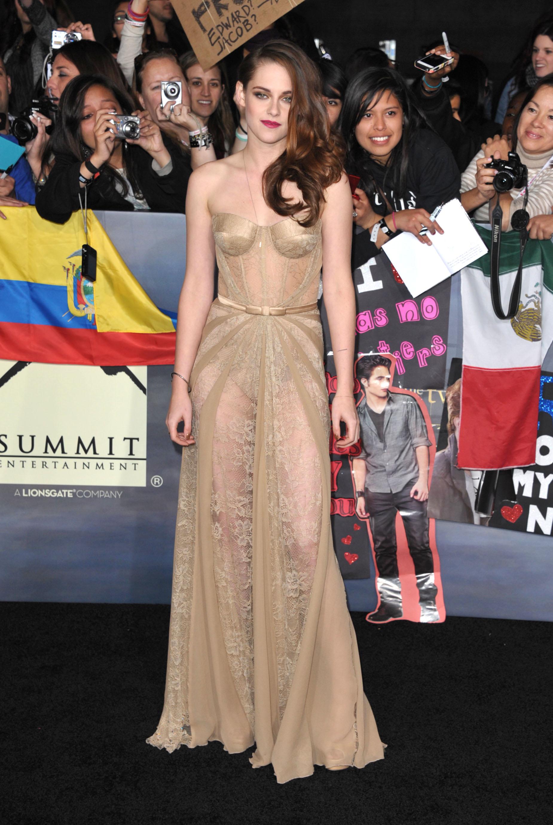 Кристен Стюарт в платье Zuhair Murad