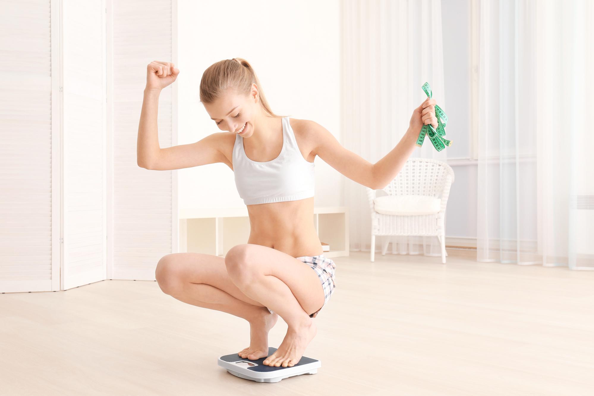 Как понять, что худеешь, если весы застыли на одной цифре