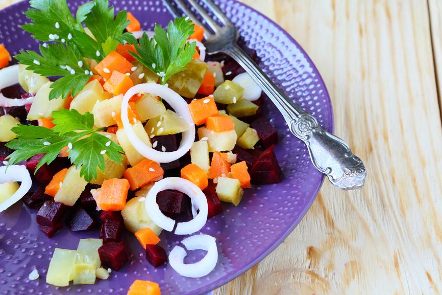 Салат с кунжутом рецепт