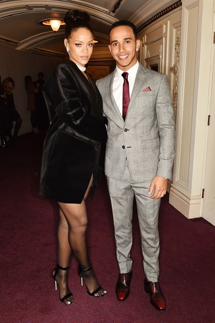 Рианна и Льюис Хэмилтон были замечены вместе на романтическом свидании
