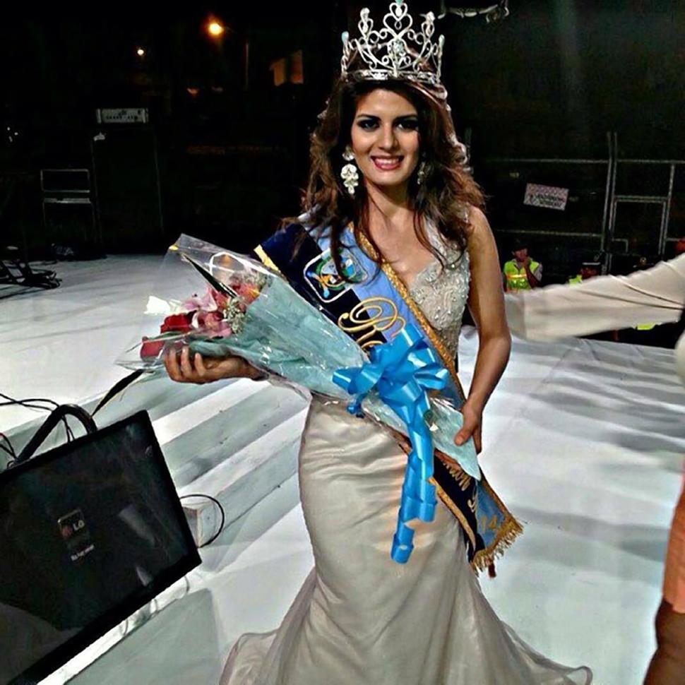 19-летняя победительницей конкурса красоты Queen of Duran