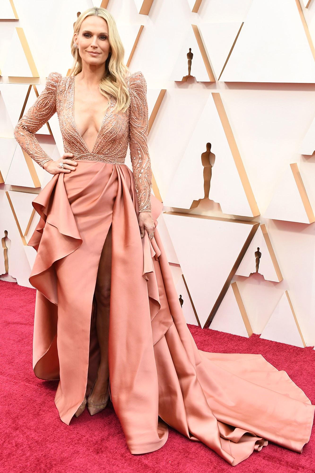 Молли Симс в Zuhair Murad на Оскаре 2020