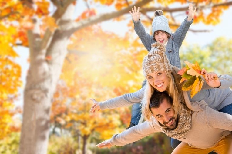 Сходите вместе с детьми в парк
