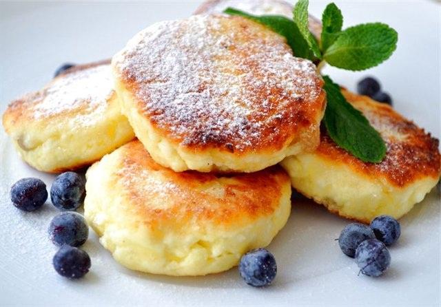 Завтрак из творога для детей