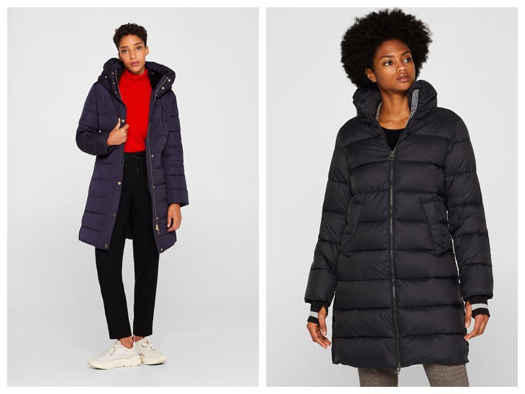 Стеганые куртки могут быть теплыми и стильными