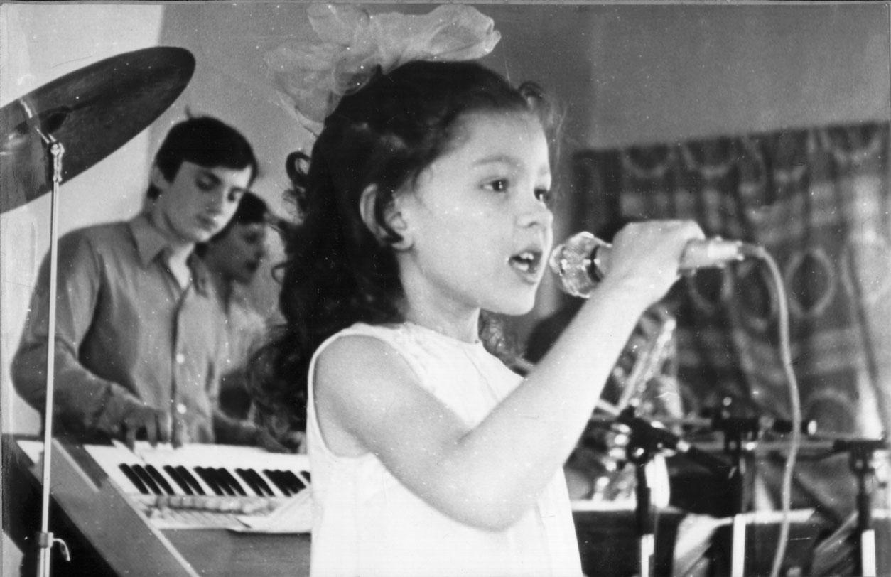 Руслана в детстве