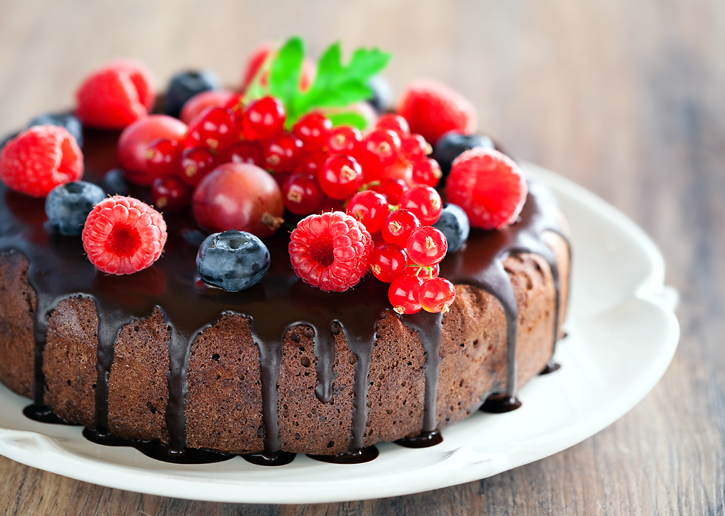 торт рецепты простые ягоды