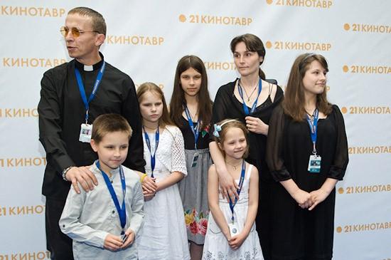 фото охлобыстин с семьей