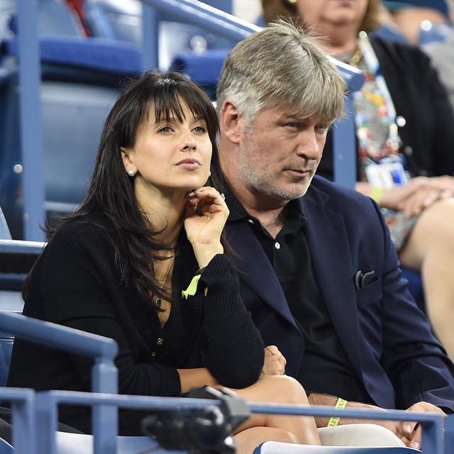 Алек Болдуин с женой Хилари Томас