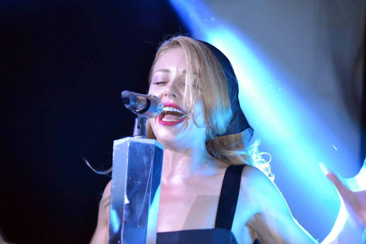 Тина Кароль выступила в Одессе