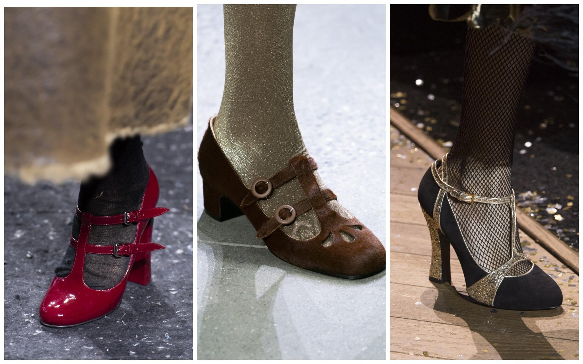 Туфли Мэри Джейн - классическая и очень милая обувь