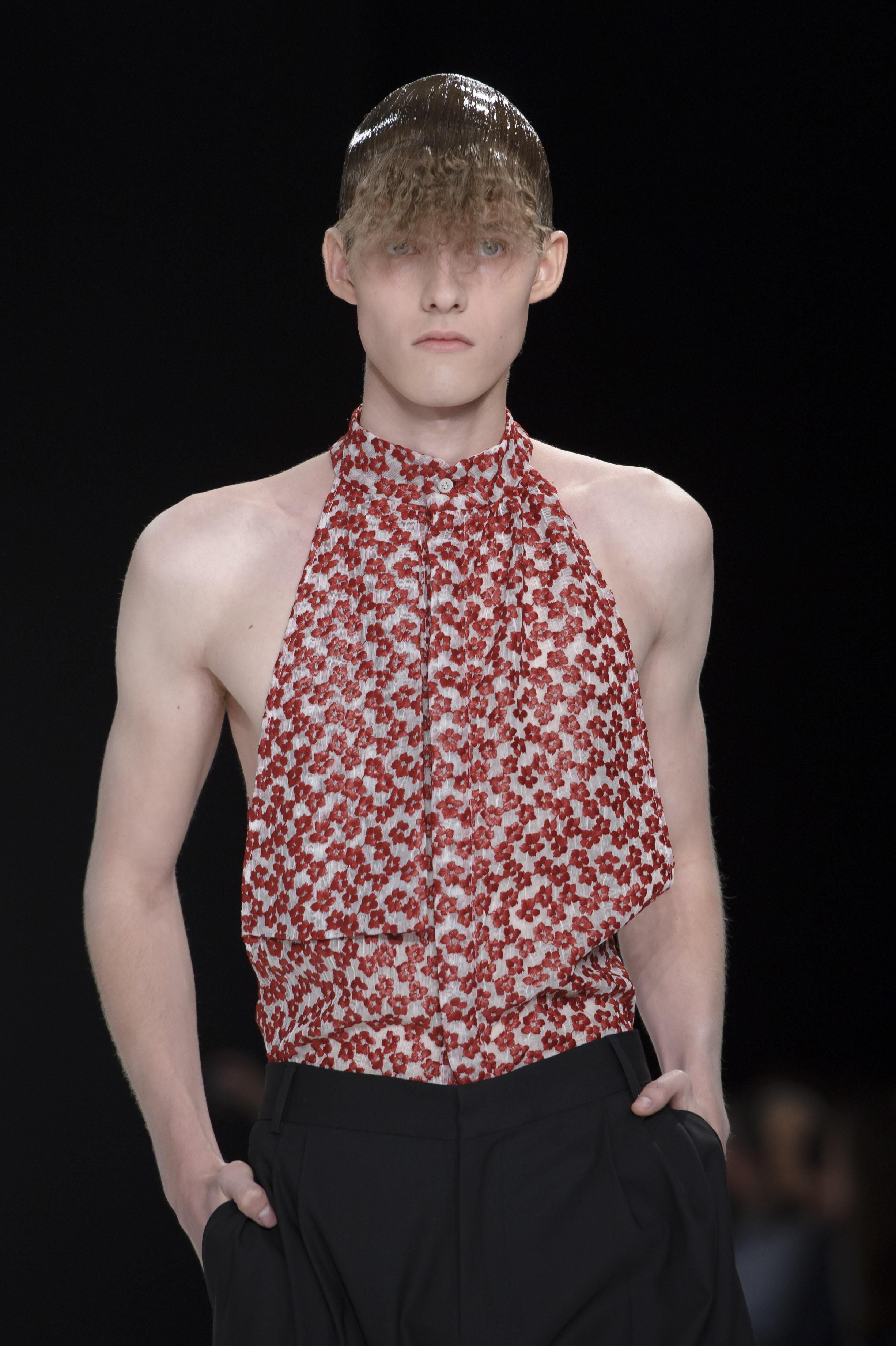 Неделя мужской моды: показ J.W. Anderson весна-лето 2014