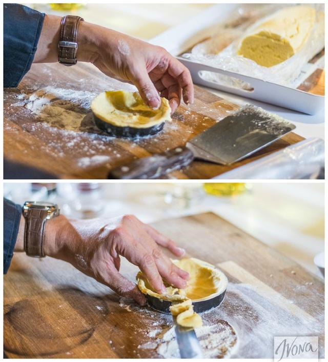 Готовка тарта