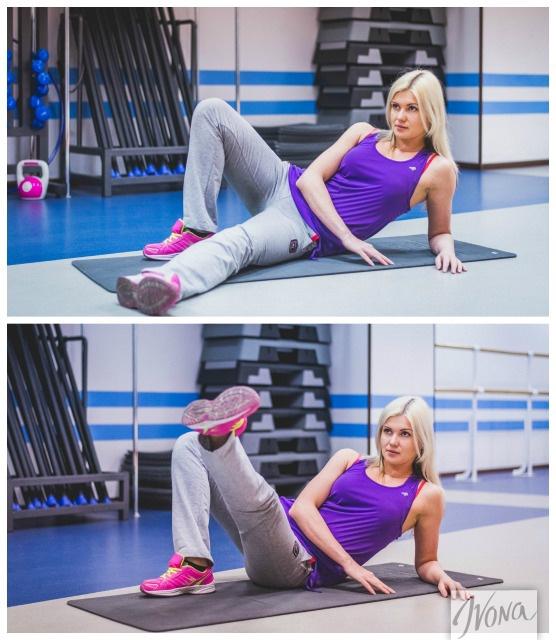 Упражнение №2 для красивых ног