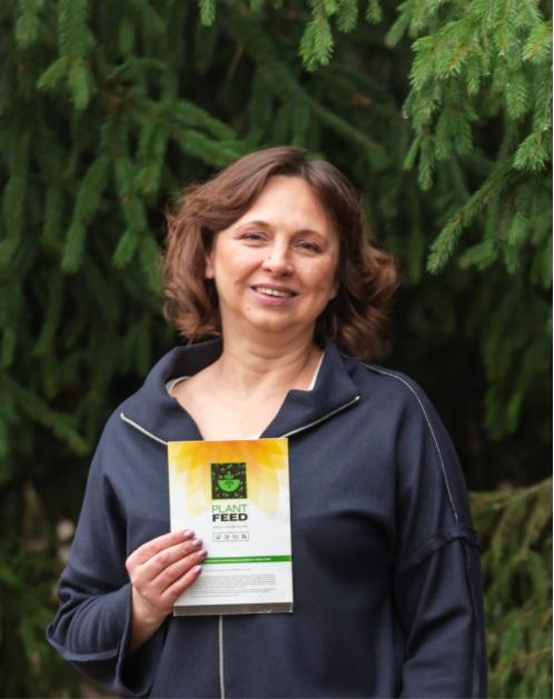 Ксенія Костенко – лауреатка премії 2-го ступеня з проєктом «ЗОЛОТО ЗЕМЛІ»