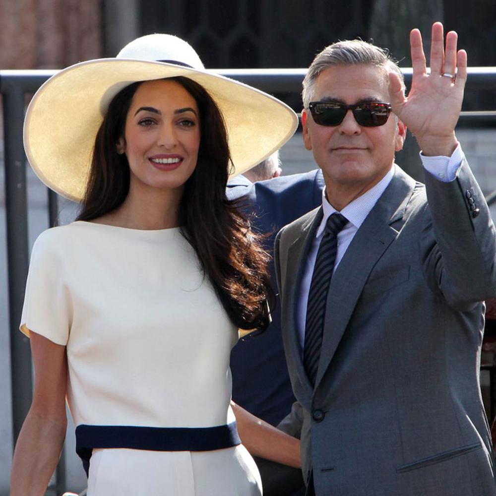 Джордж Клуни и Амаль Алламудин