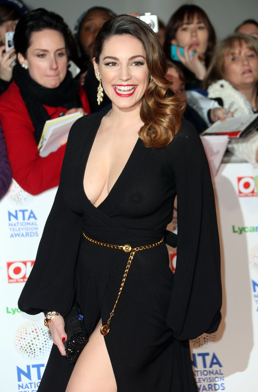 Келли Брук на церемонии National Television Awards 2014