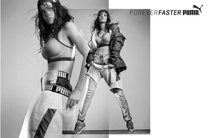 Рианна снялась в новой рекламной кампании Puma