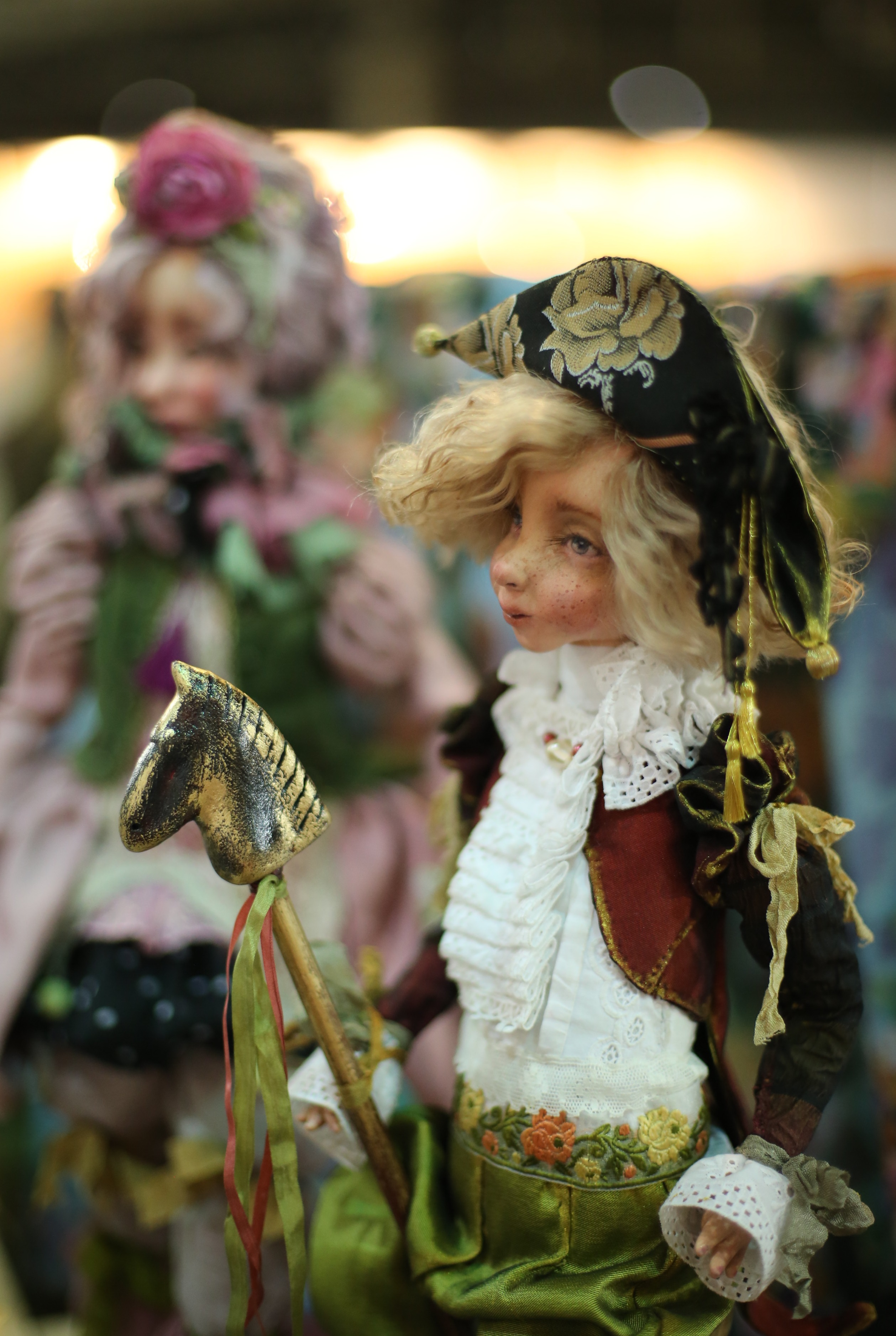 В Киеве прошел XIX Международный салон авторской куклы и Тедди