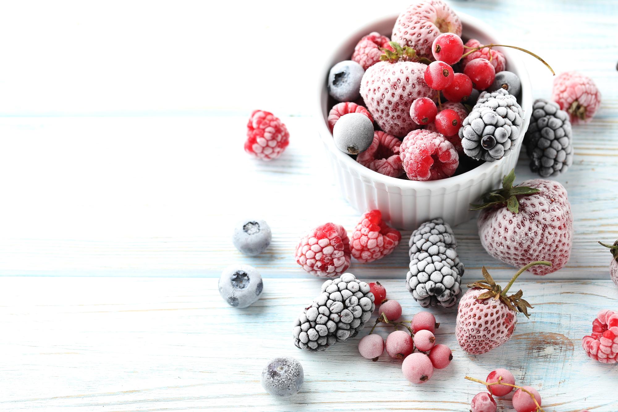 Как замораживать ягоды и фрукты в домашних условиях