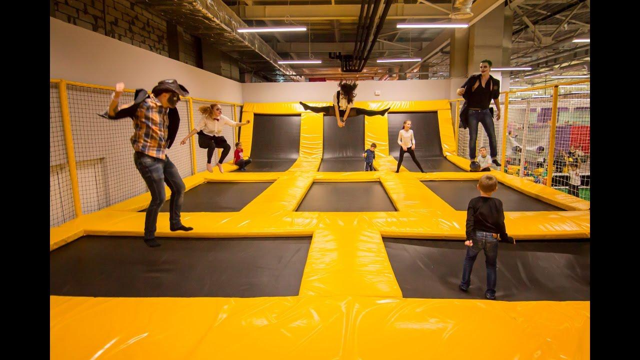 В Cool Jumper 2 батутные арены – одна для детей до 6 лет, другая – для детей постарше
