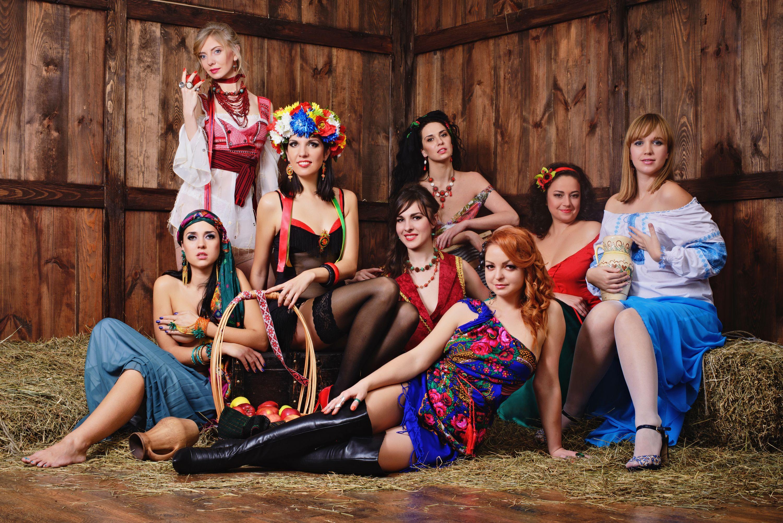 Украинский секс с красивыми женщинами 17 фотография