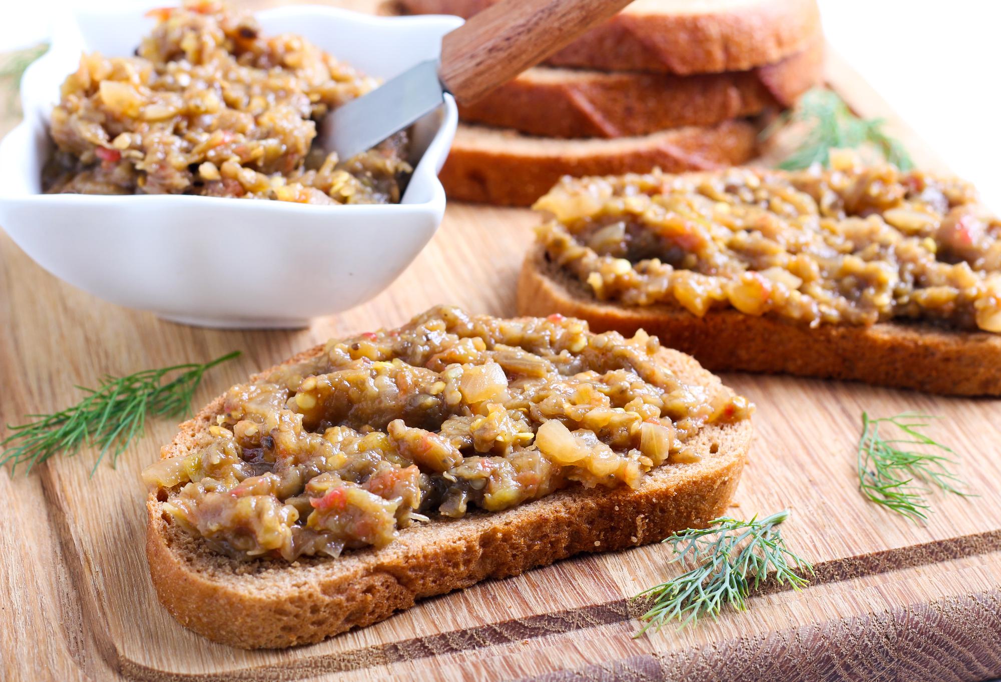 Патлыджан из баклажанов: рецепт закуски пошагово