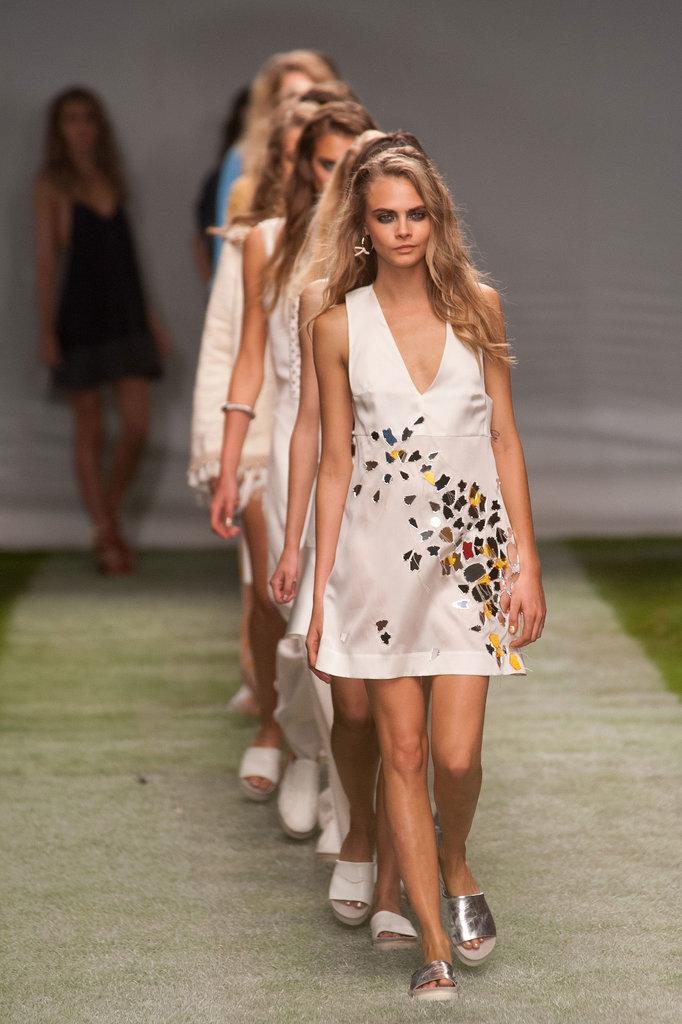 Topshop Unique представил новую коллекцию на Неделе моды в Лондоне