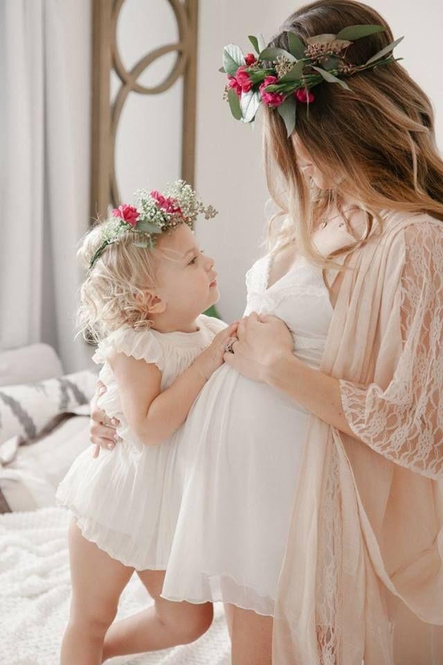 Фото беременных с детьми фото