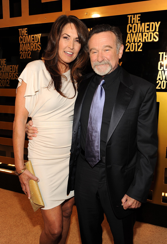 Робин Уильямс с женой