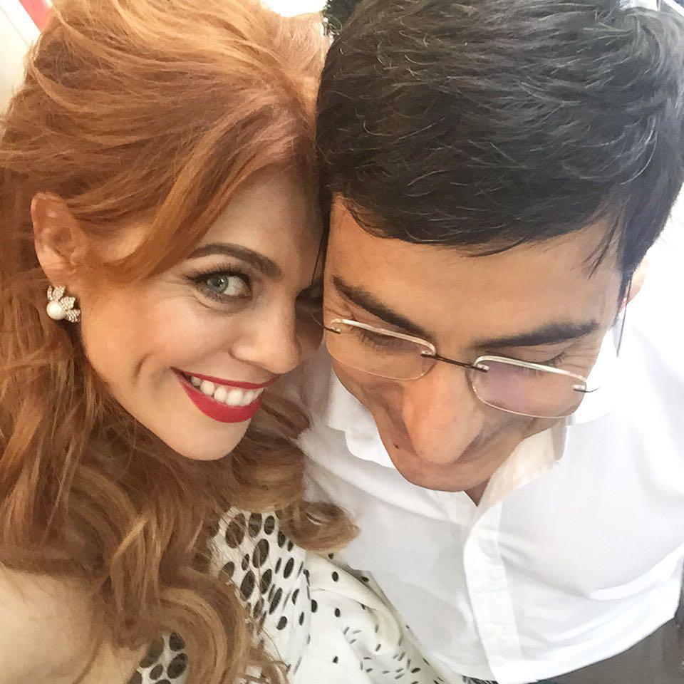 Анастасия Стоцкая с мужем Сергеем