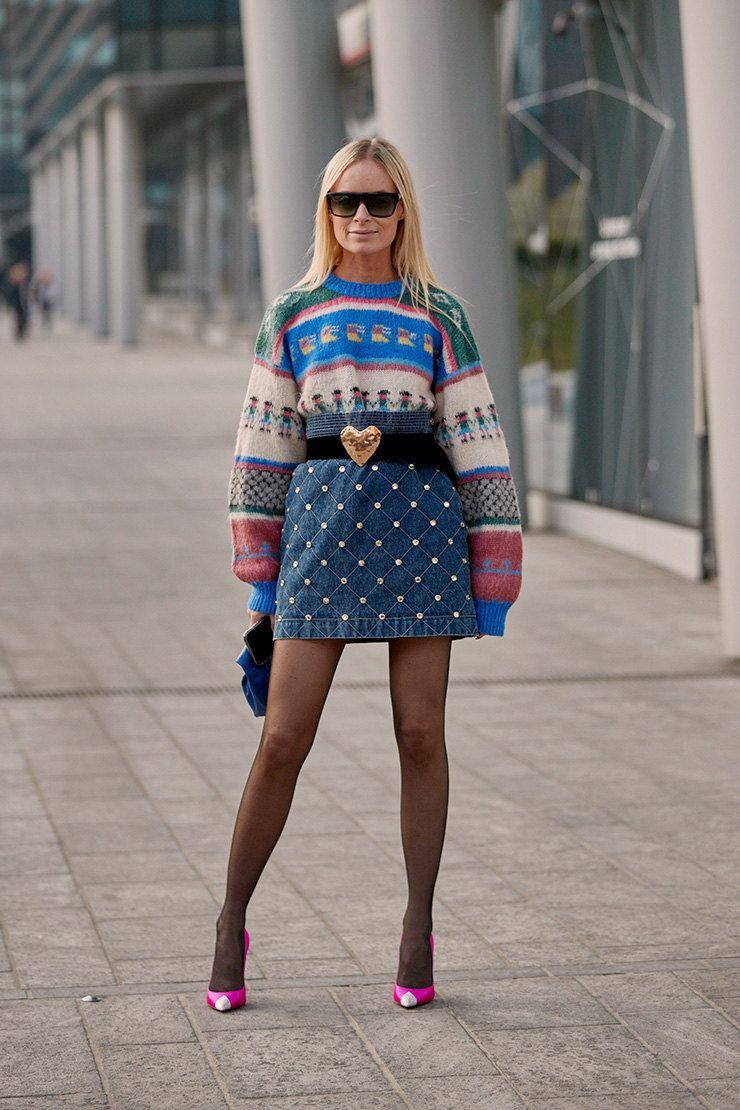 Как одеваются жительниц самых модных городов мира: Москва