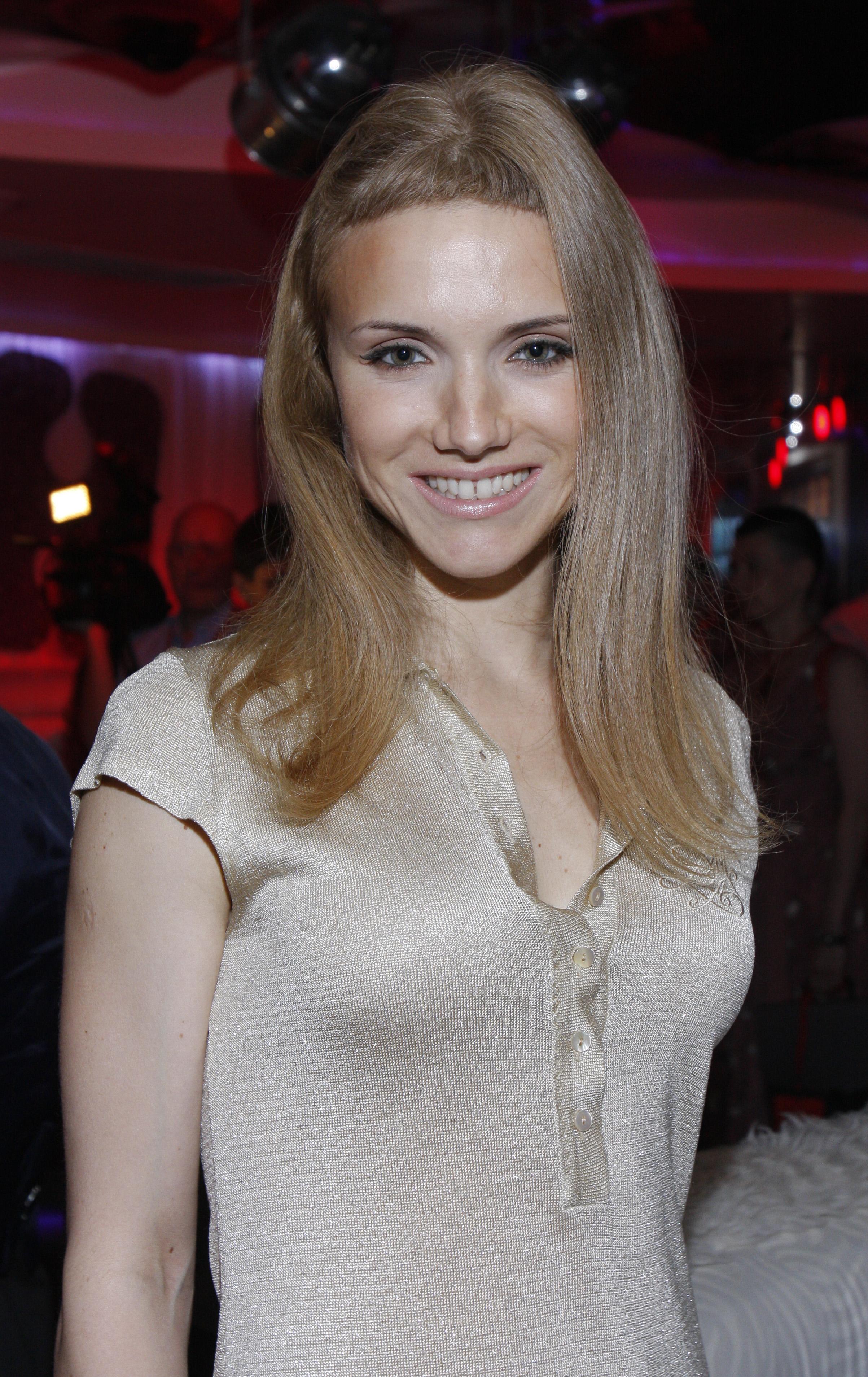 Певица Ирина Тонева (группа Фабрика)