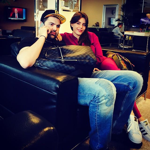 Виктория Крутая с мужем Давидом Берковичем