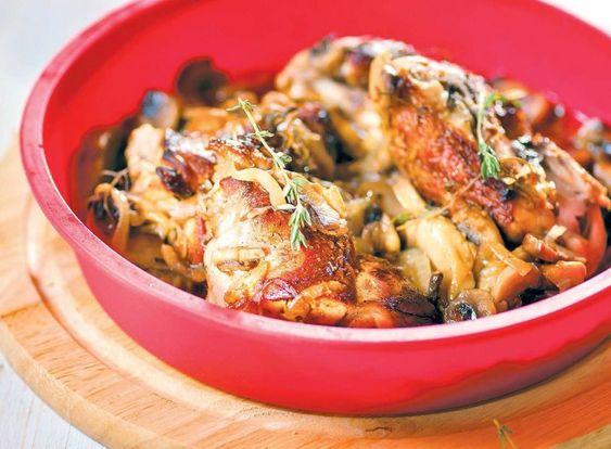 Вкусный рецепт фрикасе из крольчатины