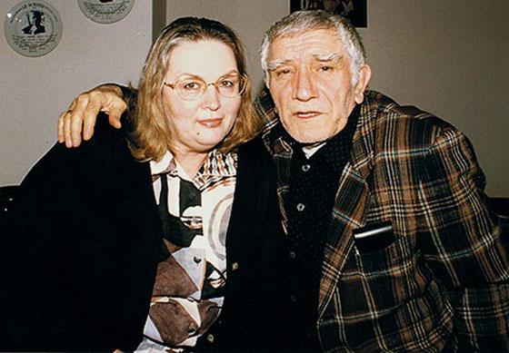 Армен Джигарханян с женой Татьяной