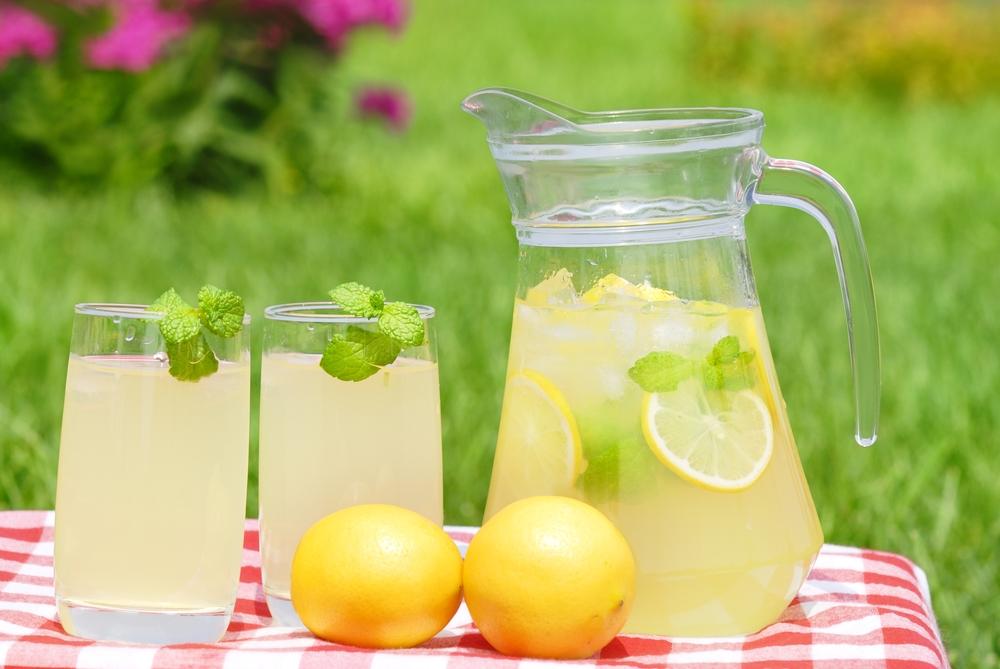 рецепт домашнего лимонада из лимона