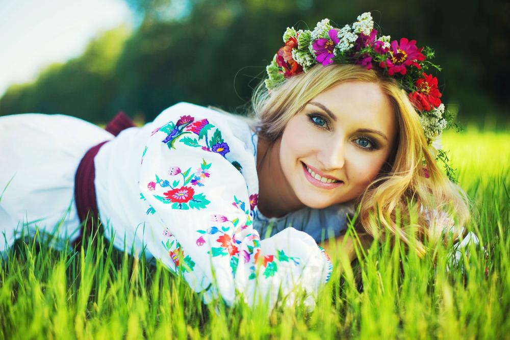 украинские красивые женщины фото