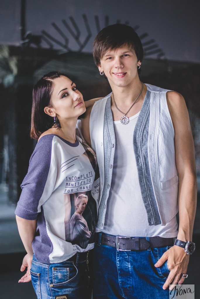 Александр Лещенко с женой